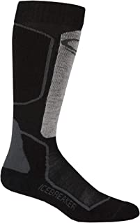 Icebreaker 男士滑雪袜 - 黑色/麻灰色/火箭色