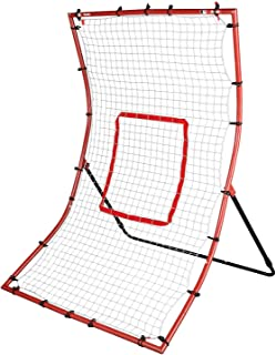 Franklin Sports MLB 2-in-1 Switch-Hitter Flyback Return Trainer, 68? x 44?