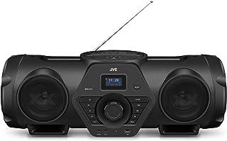 JVC RV-NB250BT XX系列 搭载蓝牙® 多合一CD系统 双低音扬声器 重低音音效 黑色