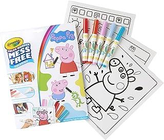 Crayola Color Wonder 著色書頁和記號筆,自由著色,送給孩子的禮物 Color Wonder Peppa Pig