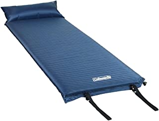 Coleman 2000016960 自充气露营垫带枕头