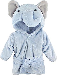 Hudson Baby 中性款婴儿哈德逊婴儿中性款婴儿毛绒泳池和沙滩浴袍罩衫,蓝象