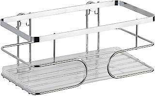 WENKO 21432100 高级壁架 – 无需钻孔固定,不锈钢,24 x 10 x 13.5厘米,闪亮