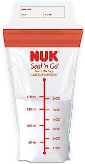 NUK/Gerber Seal N Go 密封储奶袋 多色/无 100份