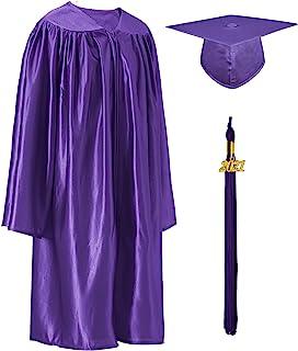 GraduatePro Shiny Kindergarten 学前毕业帽和礼服 2021 套装 适合 Prek 幼儿儿童