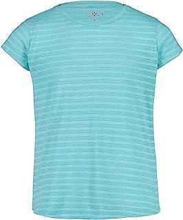 CMP 短袖衬衫由棉和聚酯纤维制成。