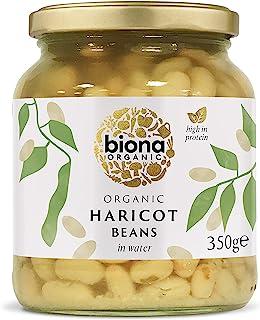 Biona Organic Haricot Beans, 350 g (pack of 6)