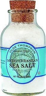 Olde Thompson 20 盎司(约 567.0 克)地中海海盐水晶,白色