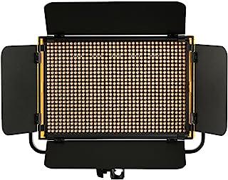 Ikan OYB5 缟玛瑙半 x 1 双色 3200K-5600K 铝制 LED 灯带双 DV 电池,黑色