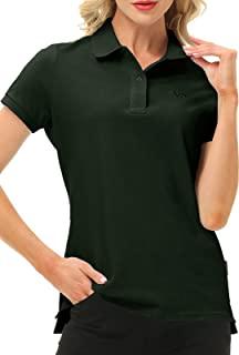 高尔夫 Polo 衫 女式短袖运动衬衫 干爽 女式 高尔夫上衣 网球