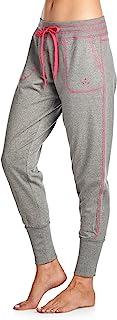 Balanced Tech 女式拼色法式厚绒布慢跑休闲裤