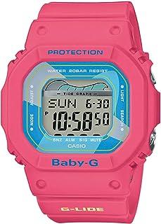CASIO Damen Digital Quarz Uhr mit Resin Armband