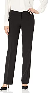 Nine West 女士喇叭直筒长裤,带后口袋