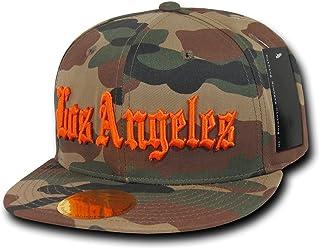 DECKY 迷彩古老英式刺绣平帽檐棒球帽