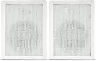 "JBL CONTROL 高级壁式扬声器(成对出售)CONTROL 128WT  带 Transformer Taps 8"" speaker"