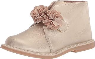 Baby Deer 儿童金属色高帮时尚及踝靴
