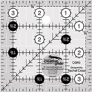 Creative Grids 绗缝尺,8.89 cm 方形