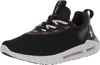 Under Armour 安德玛 中性青年 Grade School HOVR Strt 跑鞋,Black (001)/Halo Gray