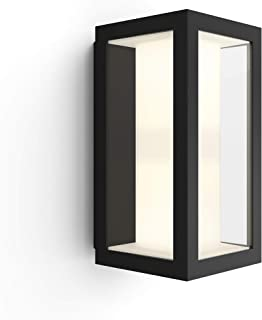 Philips 飞利浦 Hue White and Color Ambiance Impress LED壁灯(窄) 用于室外,可调光,至多1600万种颜色,可通过APP控制,兼容Amazon Alexa(Echo,Echo Dot)