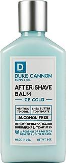 Duke Cannon 男士冰冷须后膏 - 减少*、剃须刀*、肿块、无*精 檀香 6盎司