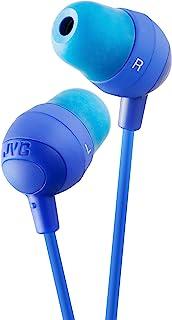 JVC HAFX32A 马花式耳塞,蓝色