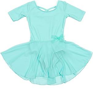 Leveret 女童短裙紧身连衣裤长袖尺码幼儿-XL 码(2-14 岁)多种颜色