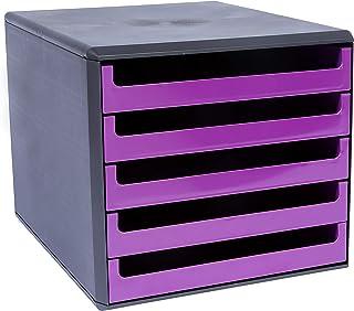 Metzger & Mendle 30057672 抽屉盒带 5 个抽屉 浆果紫色