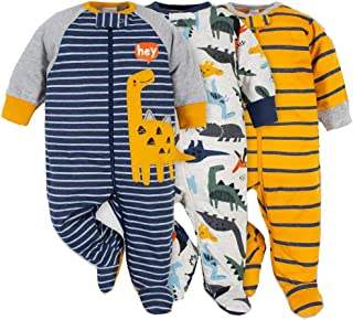GERBER 连体衣婴儿男孩外出服睡衣3件装