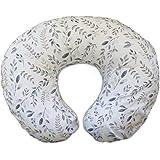 Boppy 原创哺乳枕,灰褐色叶,棉质混纺面料,带全件时尚