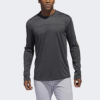adidas 阿迪达斯男式城市工作室长袖 T 恤