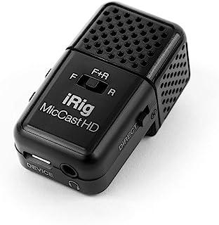 IK Multimedia iRig Mic Cast HD 移动用高品质麦克风 口袋尺寸