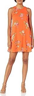 Calvin Klein Women's Chiffon Flared Dress