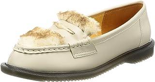 [Nowel Vocue 休闲] 平底皮鞋 带毛皮的平底鞋 16-4172