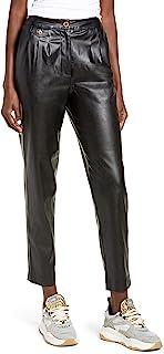 [BLANKNYC] 女式人造皮革长裤