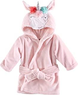 Hudson Baby 中性款婴儿哈德逊婴儿中性款婴儿毛绒泳池和海滩长袍罩衫,异想天开的独角兽