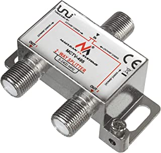 Maclean 卫星分配器 Splitte 卫星分配器 5-2400MHz Unicable DVB-S2MCTV-495  2-Wege Verteiler