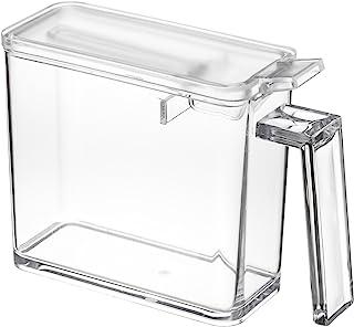 Yamazaki home 香料容器 2867 Tower–厨房食品存储,小,透明