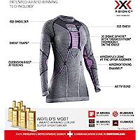 X-Bionic Apani 4.0 女式美利奴衬衫圆领长袖,女式