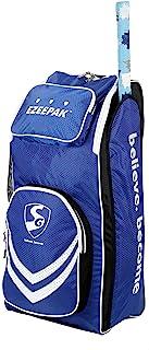Skihi SG Ezeepak 粗呢板球套装包全尺寸带肩带和手柄,适合男士/单人/个人板球工具包