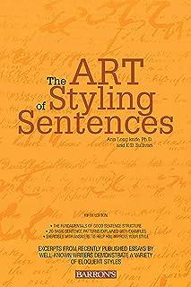 Art of Styling Sentences (English Edition)