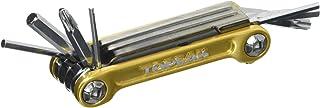 Topeak Mini 9 Pro 迷你多功能工具迷你折叠自行车工具六角形套筒螺丝刀带包 9PRO