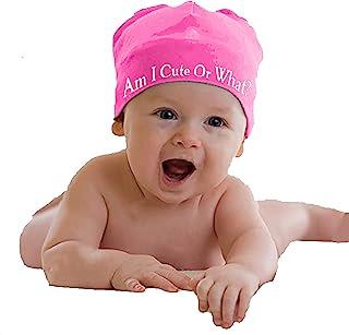 女婴可爱粉色帽子婴幼儿新生儿女孩帽子儿童