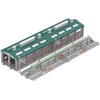 TOMIX N规矩 机务段轨道延长部 91037 铁路模型用品