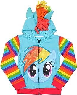My Little Pony 女童 Rainbow Dash 连帽衫
