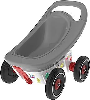 BIG - 婴儿车 - 3合1多功能拖车,带可调制动功能,包括4个静音轮,Bobby Car 拖车,适合 1 岁以上儿童