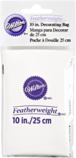 Wilton 羽毛重量挤压包 白色 10 英寸 0264408