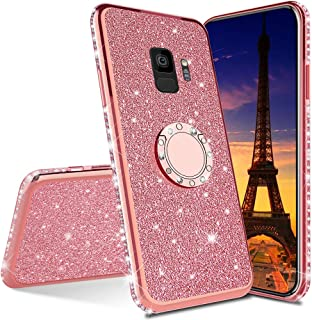 LEECOCO Samsung Galaxy S9 Case 覆盖 多种颜色 Plating TPU:Rose Gold