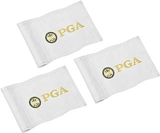 COGOLFING 高尔夫旗,双缝制 PGA 旗帜,调节管旗,练习将*旗子投入院子,420D 尼龙迷你别针旗,20.32 cm 长 x 15.24 cm 高