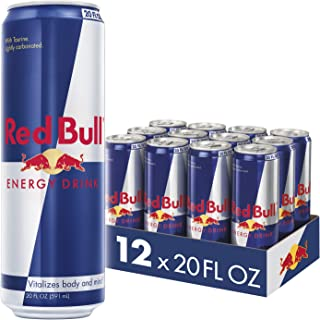 Red Bull Energy Drink, 12 Pack of 20 Fl Oz