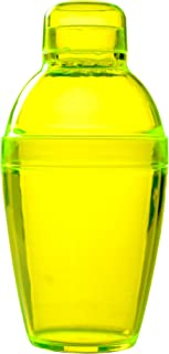 Fineline Settings Quenchers Yellow 7 oz. Cocktail Shaker 24 Pieces